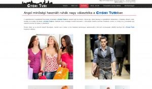 Weboldal készítés - Gyóni Turi