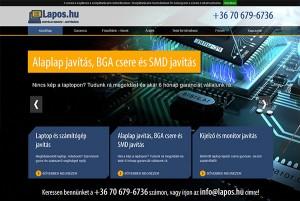 Weboldal készítés - Lapos.hu