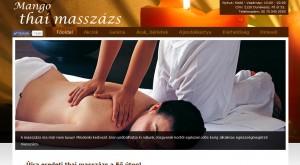 Weboldal készítés - Mango Thai Masszázs