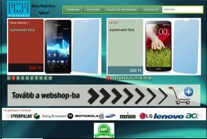 Webáruház fejlesztés - PCCP