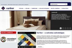 Weboldal készítés - Variker