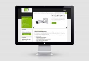 Webáruház fejlesztés - IP Cam Technologies