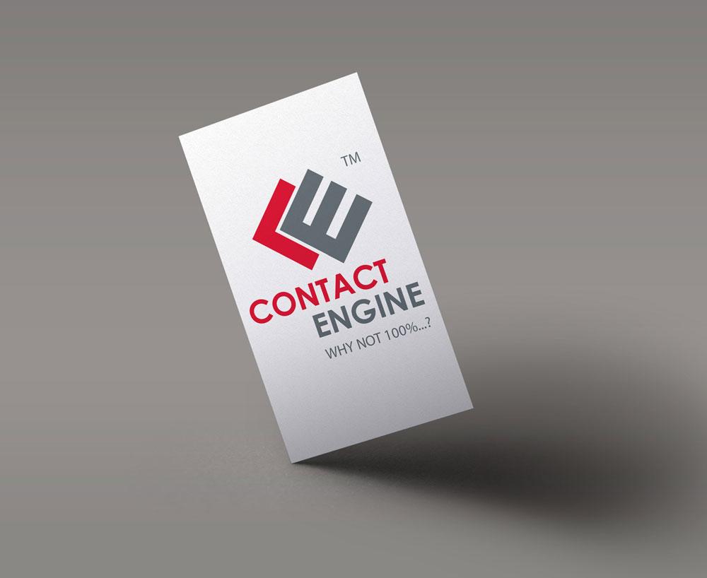 Névjegykártya tervezés - Contact Engine