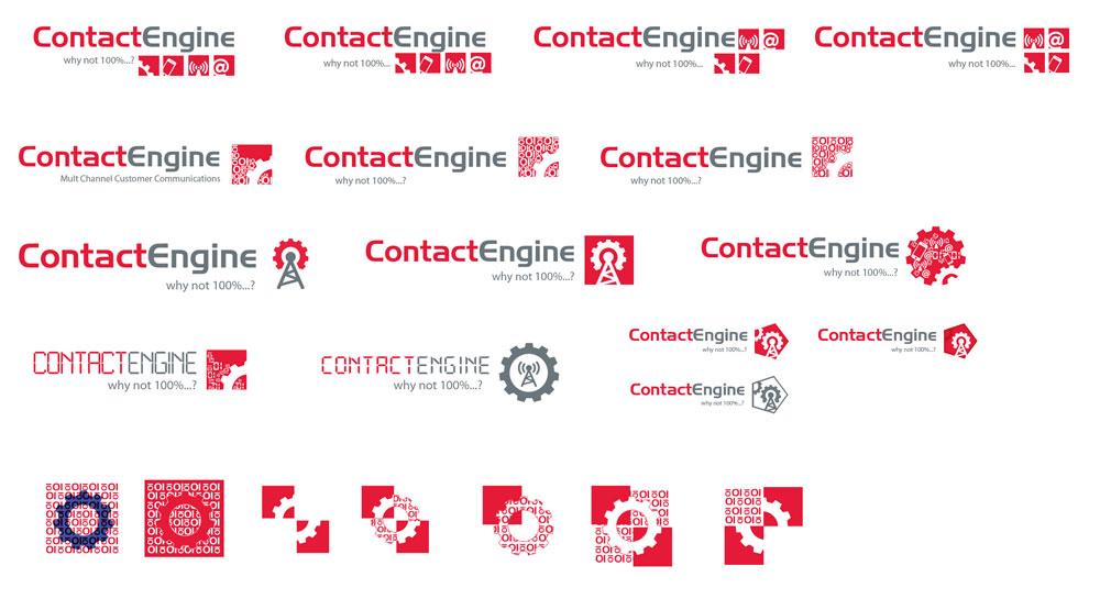 Logo tervezés - Contact Engine